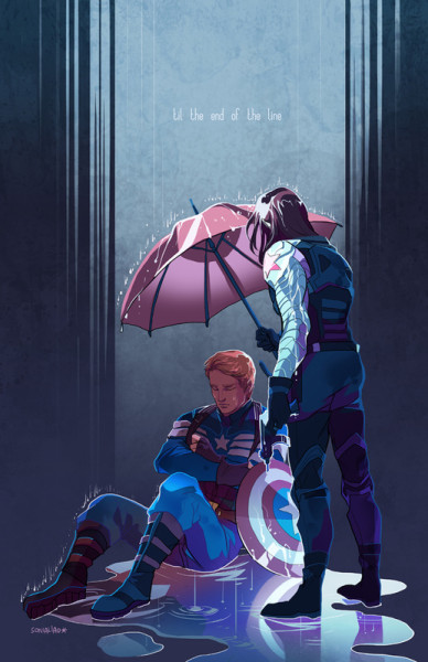 winter soldier captain america stucky