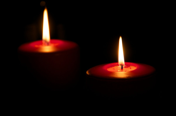 two candles jonas nordlund