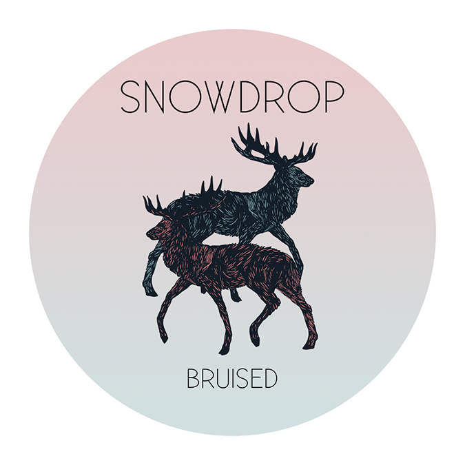 SNOWDROP - Bruised EP: did I do this right? album covers