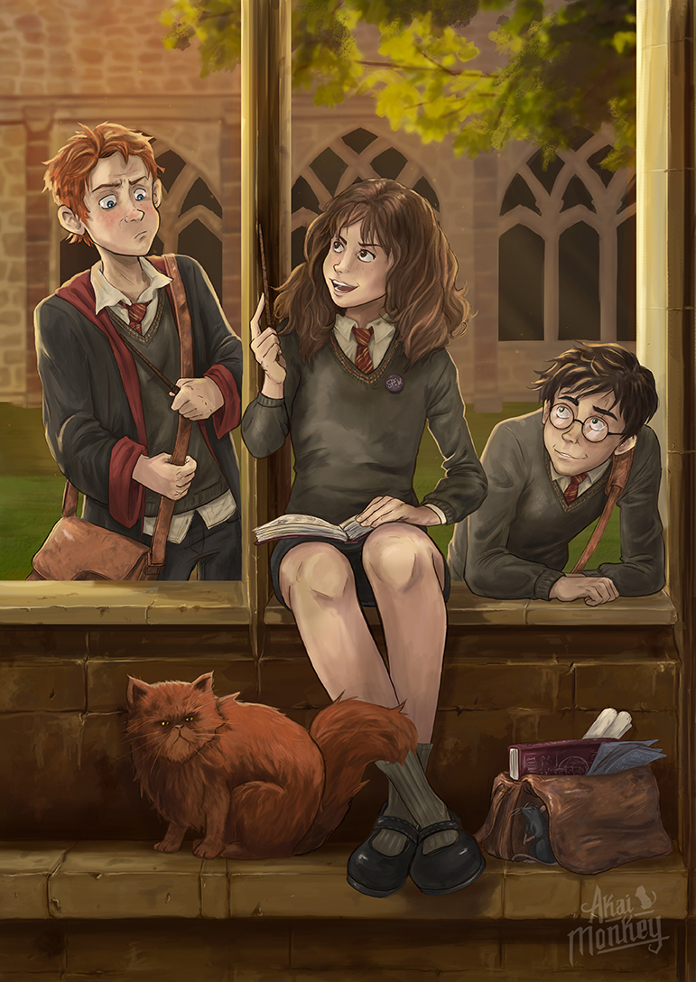 harry potter adult fan art